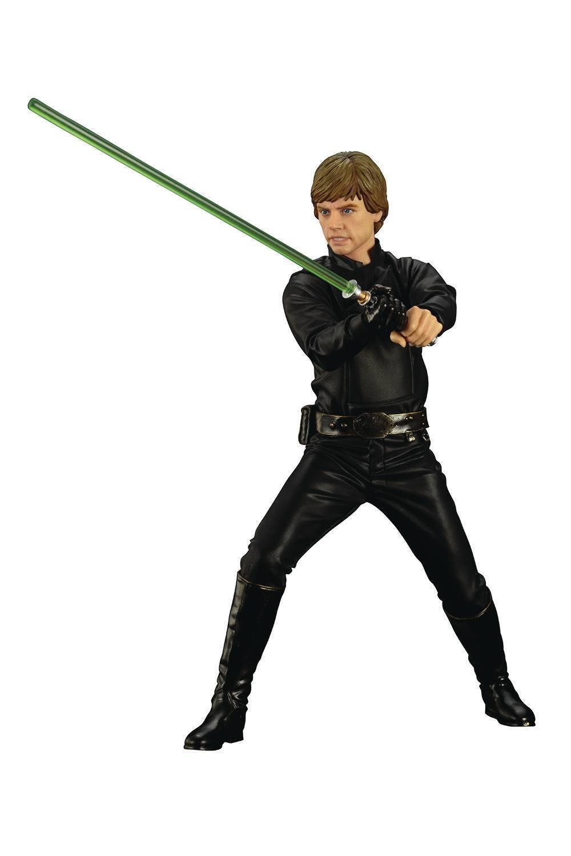 Star wars episode vi luke skywalker artfx statue