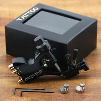 Zinc Alloy Rotary Tattoo Machine Tattoo Machines Motor Gun Liner Shader Black