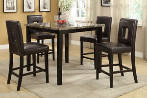 dining set counter height dining table high chairs dining room ebay