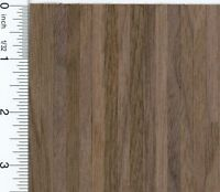 Dollhouse Miniature Black Walnut Wood Flooring Sheet By Houseworks