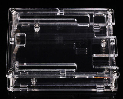 Plastic Transparent Shell Acrylic Protective Case For Arduino UNO R3