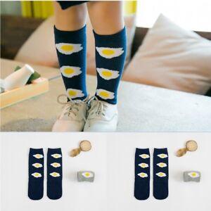 Leg Warmer Bear Pattern Baby Toddlers Kids Knee High Socks For 1-4 Years Age