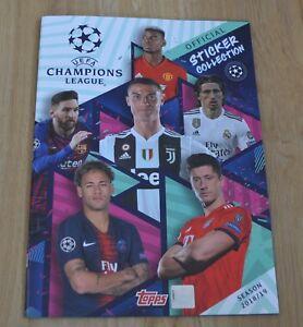 Topps-Champions-League-Sticker-2018-2019-Sammelalbum-Leeralbum-Album-18-19