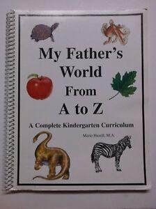 My-Father-039-s-World-From-A-to-Z-Kindergarten-Curriculum-by-Hazell-Teacher-039-s-Book
