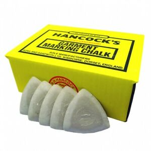 Yellow 12 50 Packs 25 Hancocks Tailors Garment // Fabric Marking Chalk