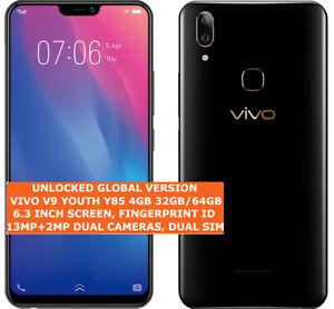 VIVO V9 YOUTH Y85 4gb 32gb/64gb Octa-Core 13mp Fingerprint