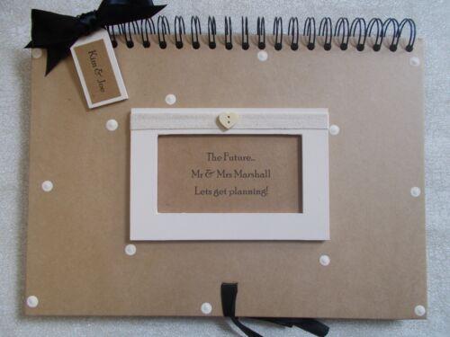 Planificador De Boda Personalizado Artesanal A4 Scrapbook álbum Multi Uso Post rápido
