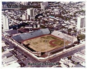 1975 Hawaii Islanders AAA PCL Team Picture Color 8 X 10 Photo Picture