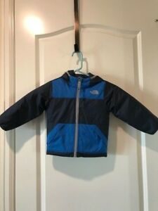 897207c35 Details about THE NORTH FACE TODDLER BOYS REVERSIBLE TRUE OR FALSE JACKET  BLUE MSRP $80.00