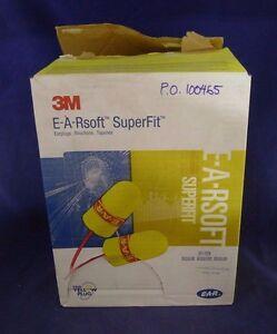 3M 311-1254 E-ARsoft SuperFit Earplugs LOT of 169 NEW
