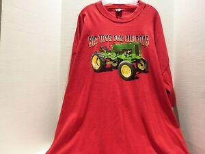 Tractor Big Toys For Big Boys T Shirt 4xl Red Made U S A Rare