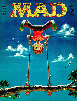 MAD Magazine Issue #58 Cover Poster