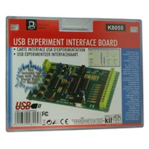 VELLEMAN-USB-Scheda-Di-Interfaccia-Esperimento-Kit-k8055