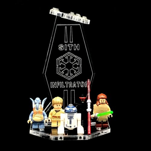 Acryl Display Stand Acrylglas Standfuss für LEGO 75096 Sith Infiltrator