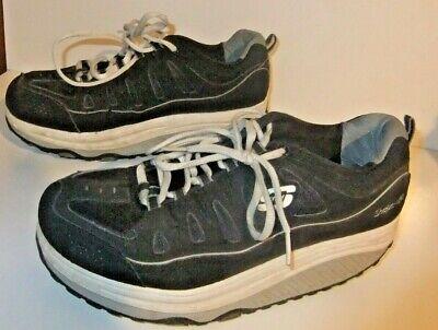 skechers memory foam black shoes