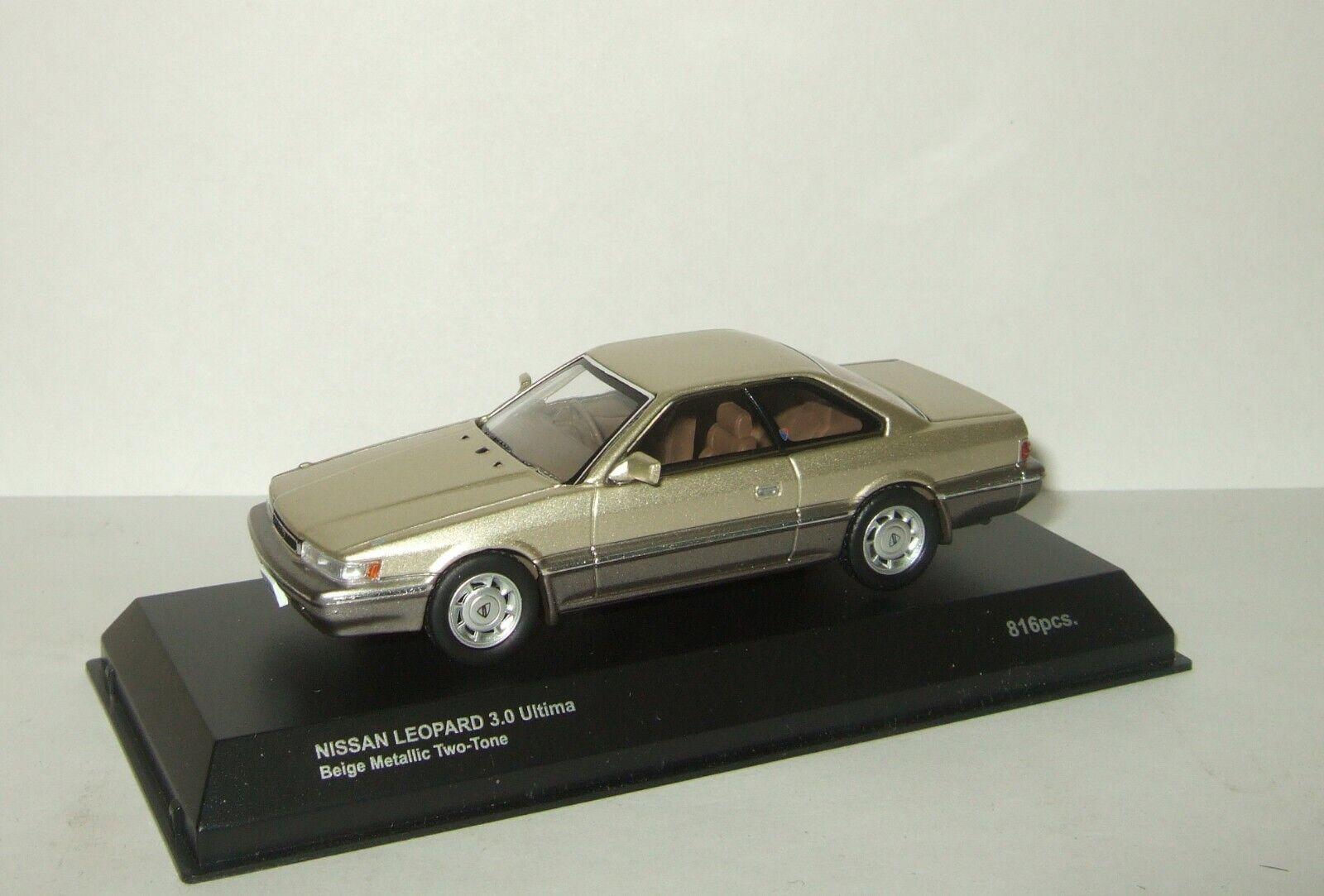 1 43 Kyosho Nissan Leopard 3.0 Ultima 1986