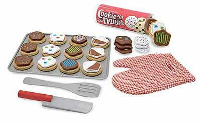 WOODEN SLICE & BAKE COOKIE SET, Play Food ~ Melissa & and Doug  Item # 4074