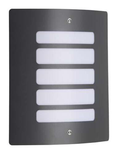 Brilliant Todd Wandleuchte Außenleuchte Lampe anthrazit Metall E27//60W