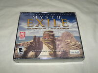 Myst Iii Exile (pc, 2001) And Sealed In Jewel Case