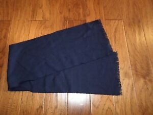 AIR-FORCE-SCARF-BLUE-100-VIRGIN-WOOL-COLD-WEATHER-MILITARY-DRESS-SCARVES