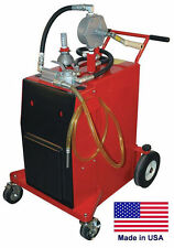Gas Amp Fuel Caddy Commercial 30 Gallon Ul Amp Osha Approved Rotary Hand Pump