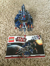 Lego 8089 Star Wars Droid Tri-Fighter Manual Minifigures 100% Set 268 pcs Retire