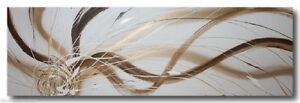 ABSTRACT-CANVAS-PAINTING-white-gold-brown-Modern-wall-art-Australia