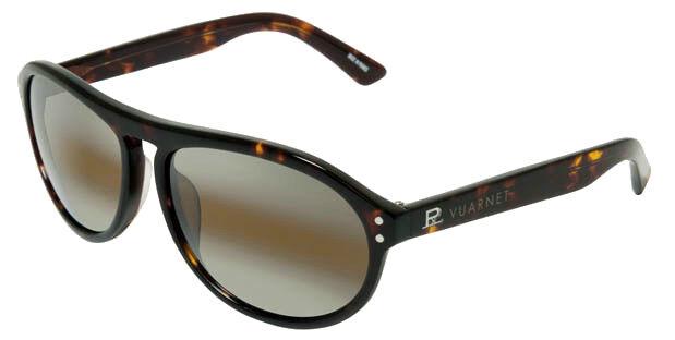 b34d684baf Vuarnet Mens VL 1202 Col P00n Dark Tortoise Sunglasses SKILYNX France for  sale online