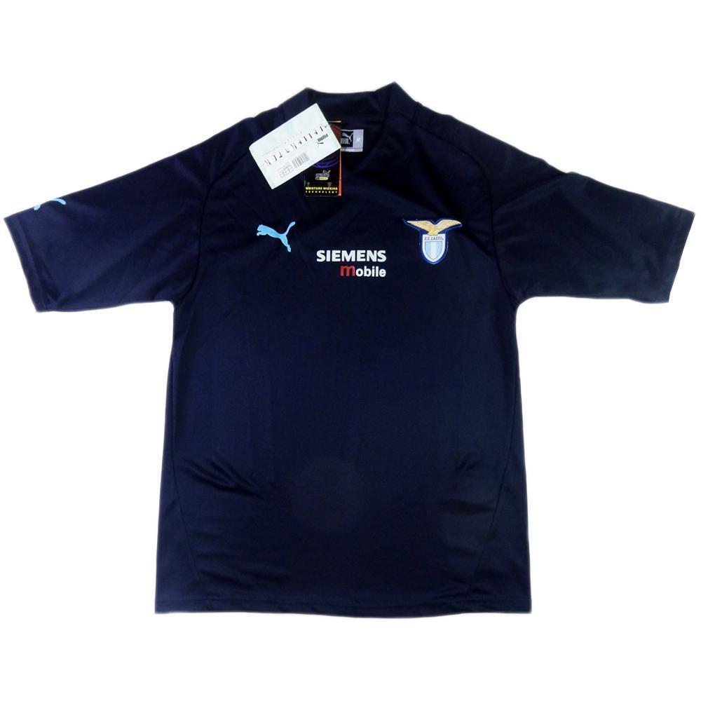 2001-02 Lazio Maglia Terza M CARTELLINO  SHIRT MAILLOT TRIKOT