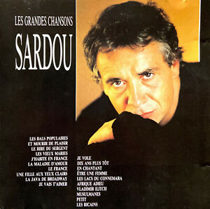 Michel-Sardou-CD-Les-Grandes-Chansons-France-VG-VG