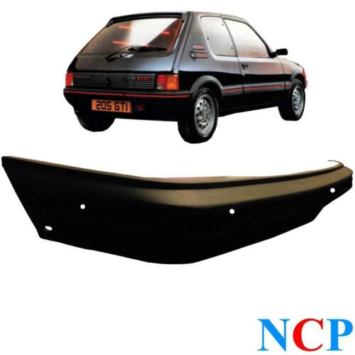 PEUGEOT 205 GTI MK 2 1990-1996 REAR BUMPER BLACK FINISH 741099