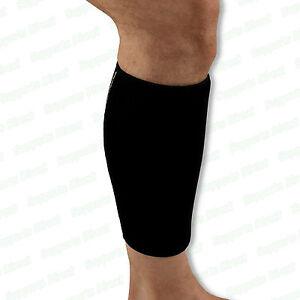 87629d855f Image is loading Adjustable-Compression-Neoprene-Calf-Support-Sleeve -Shin-Splints-