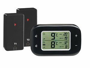 Kühlschrankthermometer : Digitales kühlschrankthermometer gefrierschrankthermometer alarm
