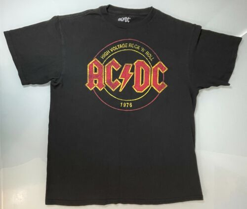T-Shirt Größe S *Kult* AC//DC Tour 1975 High Voltage