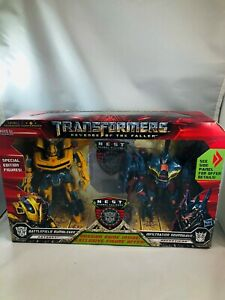 Transformers-Revenge-Fallen-Bumblebee-amp-Soundwave-Nest-Action-Figure