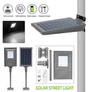 20W LED Solar Light Road Street Wall Lamp 2835SMD Outdoor Path Waterproof