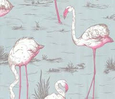 Key West Flamingo Vintage Retro Modern - Wall Paper - Other Colors Available