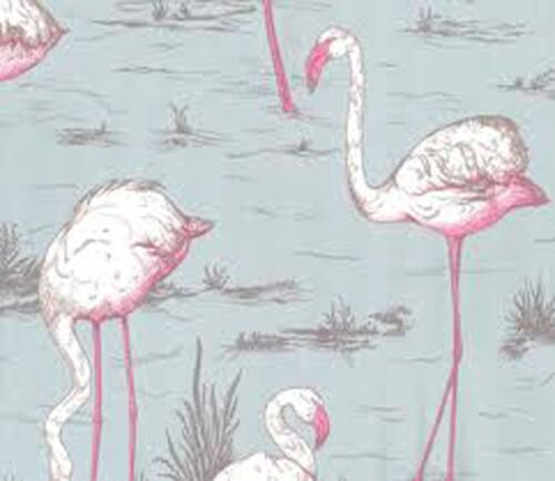 Wall Paper Key West Flamingo Vintage Retro Modern Other Colors Available