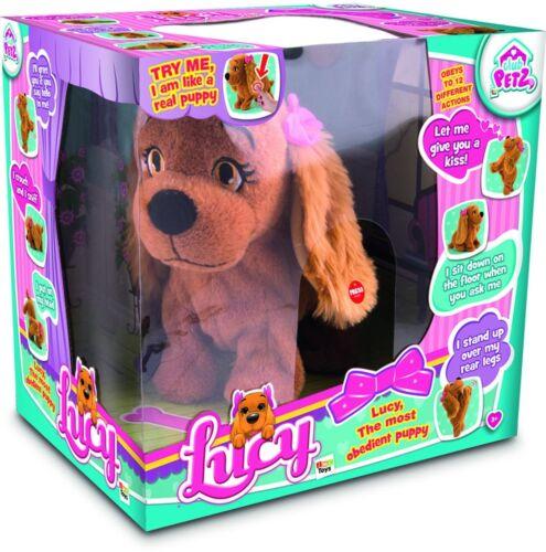Lucy il cane giocattolo elettronico vocale controllato Ragazze DOGGY ELETTRONICO PET REGALO