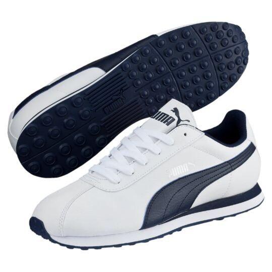 Zapatillas para hombre Puma Turín, Blanco Azul Vida Marino Deporte Estilo De Vida Azul Zapatos  11.5 Nuevo En Caja 7b4c1b