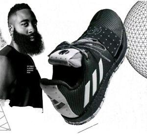 Paraíso girar acerca de  Adidas James Harden Vol 3 Cosmos Lucky XIII black white basketba shoes  (BB7723) | eBay