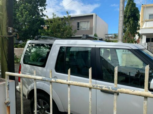 SILVER ROOF RACK CROSS BAR FOR LAND ROVER DISCOVERY 4