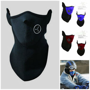NEW-Motorcycle-SKI-Face-Neck-Cover-Warmer-Neoprene-Mask-Balaclava-Sport