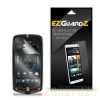 5X EZguardz Clear Screen Protector Shield Skin 5X For Casio Commando 2 4G LTE
