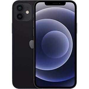 Apple iPhone 12, 64GB, Black - Fully Unlocked (Renewed)