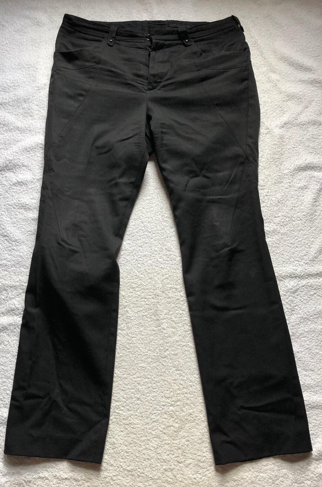 The Viridi-Anne Hose schwarz doppellagig Größe Größe Größe 4 | Attraktive Mode  137c2c