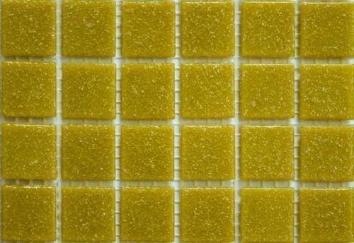 200-203 Matte Biscuit Cream Vitreous Glass Mosaic 10mm Tiles A32