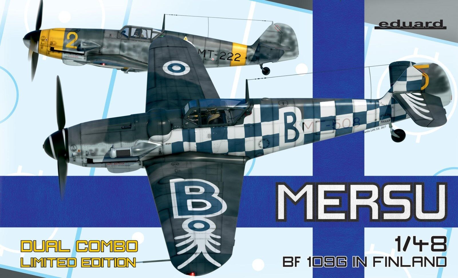 Eduard 11114 1 48th scale LTD Ed WWII fighter Bf 109G in Finnish air force Combo