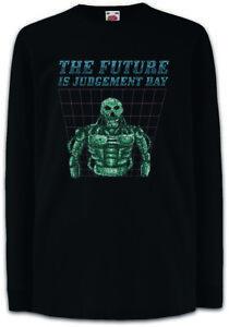 The-Future-Is-Judgement-Day-Kinder-Langarm-T-Shirt-Nerd-Fun-Roboter-Terminator