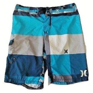 84e1922bf0dbb Image is loading Hurley-Phantom-Mens-Med-Swim-Trunks-Board-Shorts-